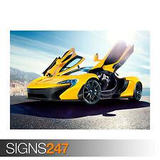 McLaren P1 (0188) cartel de auto-foto imagen arte cartel impresión A0 A1 A2 A3 A4