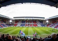 Glasgow Rangers FC Ibrox Stadium Art Print Photo Picture Poster A3 A4