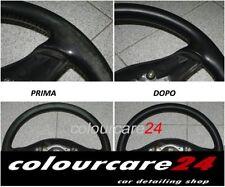 Kit Rinnova Colore Volante Pelle FORD NERO Ritocco Interni Focus C-Max 2010-15