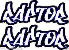 Raptor 350 600 660 700 Gas tank air box Graphics Decals Stickers ATV QUAD Yamaha