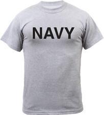 Grey Navy Physical Training PT Workout T-Shirt