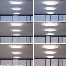 Transformateur plafonniers LED aluminium spots salon lampes Panneau grille neuf