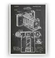 Pocket Folding Camera 1902 Patent Print Poster Decor Art Gift - Unframed