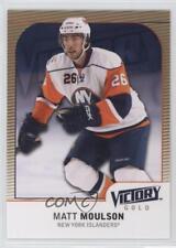 2009-10 Upper Deck Victory Gold #280 Matt Moulson New York Islanders Hockey Card