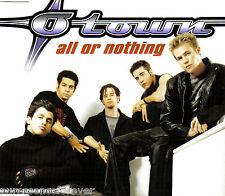O-TOWN - All Or Nothing (UK Ltd Ed 4 Tk Enh CD Single/No Poster)