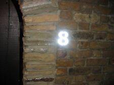 Bright Reflective House Numbers, Sign, Reflector, Luminous, Owlzeyez.com