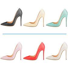 Verocara Women Pointed Toe Stiletto High Heel Glitter Upper Sexy Dress Pump Shoe