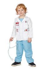 Doctor Traje Doc Médico arztkostüm doktorkostüm Ärzte Blanco Azul CARNAVAL