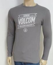 Volcom Stone Dreamsville Mens Gray Thermal Shirt T-Shirt New NWT