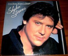 Shakin' Stevens  THE BOP WON'T STOP  1983   EPIC 39286  Rockabilly  Vinyl LP  NM