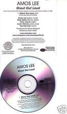 AMOS LEE Shout out Loud RARE TST PROMO CD Single 2006