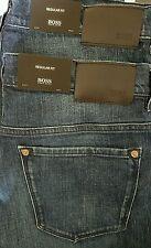 Hugo Boss KANSAS Regular Fit Dk Indigo Denim Jeans [Multi Sizes] Retail $165 NWT