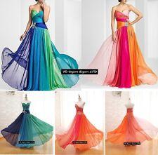 Vestito Donna Chiffon Cerimonia 3 Versioni - Woman Dress Special Occasion 110154