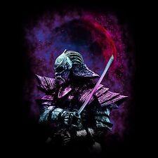 Samurai Warrior T-Shirt Herren Japanischer Fußsoldat Shogun Ninja Harakiri WOW
