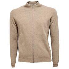 9992U maglione ALTEA cardigan zip lana uomo sweater men