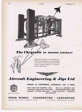 1955 Wren Works Chadderton Goodmans Wembley Vintage Ad