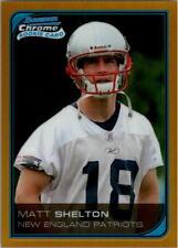 2006 Bowman Chrome Gold Refractors Football Card Pick