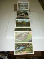 1945 Vintage Notre Dame Accordian Fold Out Postcards