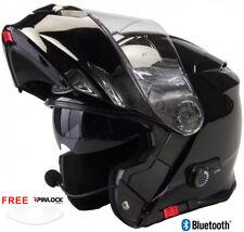 VIPER RS-V171 RSV171 BLUETOOTH BLINC FLIP FRONT MOTORCYCLE HELMET  FREE PINLOCK