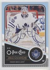 2011-12 O-Pee-Chee #426 Jonas Gustavsson Toronto Maple Leafs Hockey Card