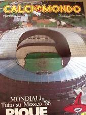 Calciomondo 5 1985 - Mondiali Tutto su Messico 86 PIQUE DE ORO