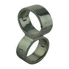 Paire de bracelets traverser cross XL Handcuffs hot hauteur 3cm acier 3 modèles