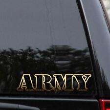 US Army Decal Sticker Veteran Military Car Truck Window Wall Laptop Bumper