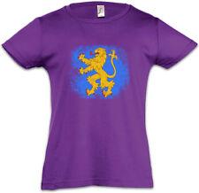 SHELDON APPARTMENT FLAG LION Kids Girls T-Shirt The TV Big Bang Nerd Theory TBBT