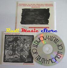 CD MOMENT OF TRUTH PREMONITION IMAGE 001 NEW YORK NO lp mc dvd vhs (CS51)