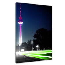 Leinwandbild - Blick auf den Berliner Fernsehturm ( Berlin - Mitte )