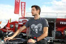 DUCATI IDM 3C Carbon Team Fan T-Shirt MAX NEUKIRCHNER #76 grey Widder NEW