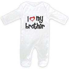 J'AIME MA Brother bébé tunique de nuit Barboteuse - 0-18months mois