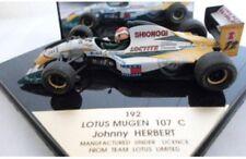 ONYX 191 191A 192 LOTUS MUGEN 107C F1 diecast model cars P Lamy / J Herbert 1:43