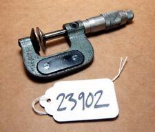 Brown and Sharpe Disc Micrometer Range 0-1 in. Model 221