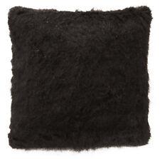 Fm852a Brown Plain Long Thick Faux Fur Cushion Cover/Pillow Case Custom Size