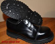 3-Loch ranger chaussures avec acier capuchon boots rangers taille 38 39 40 41 42 43 44 45 46