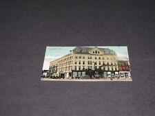 Antique ALLENEL HOTEL 1916  postcard Ann Harbor MI Postmarked Town Souvenir