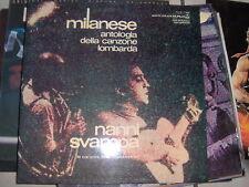 LP NANNI SVAMPA MILANESE ANT.CANZ.LOMBARDA VOL.4 COPERTINA G/FOLD N/M VINILE N/M