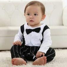 Baby Boys Costume 6-24 M Cravate Nœud Pour Mariage Noël Anniversaire Baptême Costume