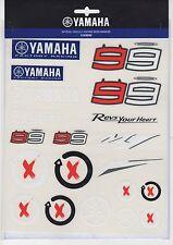 New Official Jorge Lorenzo / Yamaha L Set Adesivi - 14 57005