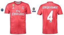Trikot Adidas Real Madrid 2018-2019 Third UCL - Sergio Ramos 4 [S-XXL] Champions