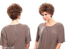 Stella Short Jon Renau Wavy Blonde  Red Grey Wigs / Medium Loose Curls