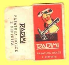 Lametta da Barba con bustina - Radimi rossa - f15