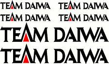 Team Daiwa Fishing Boat Sticker Decal Marine Set of 6