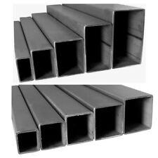 Edelstahl Quadrat Rechteck Vierkant Rohr V2A Profil Stange 10-190cm im Zuschnitt