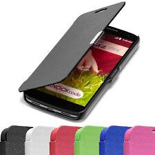 SLIM FLIP Case LG G2 Mini Tasche Handy Klapp Schutz Hülle Etui Cover