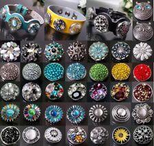 VCh1# Knopf Druckknöpfe Klick Button Knöpfe für Armband Gürtel/Kette/Ring Mode