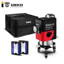 DEKO LL12-HV 12 lignes niveau Laser 3D auto-nivelant 360 degrés croix