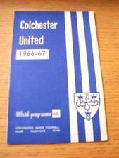 12/11/1966 Colchester United v Peterbrough United (Sco