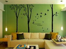 Huge Tree Birds Wall Sticker Vinyl Art Home Decalsr Decor UK  184